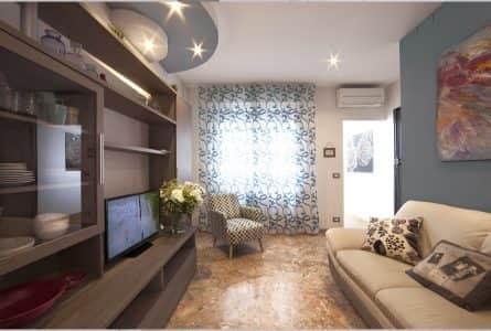 appartamento-vacanze-padova-centro-salotto-appartamento-celeste